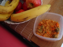 Quick Lunch, Couscous with herbs and vegetables