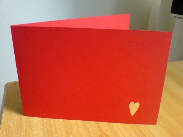 Red Greetings Card, Homemade Greetings Card, Birthday Card Ideas