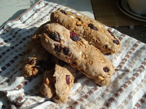 Walnut and Cranberry Muesli Stick Breadrolls, home-baking, baking at home, baking for lunches, recipies to save money