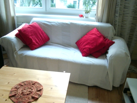 DIY couch throw