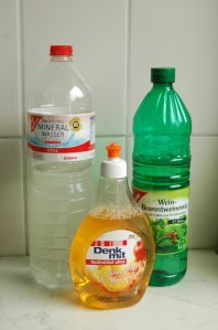 making your washing up liquid go a bit further