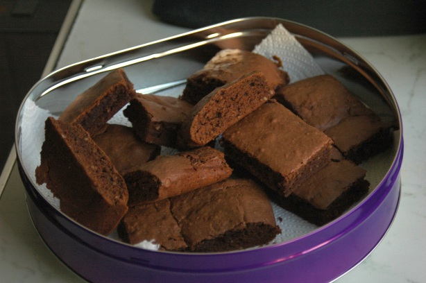 simple hazelnut brownies