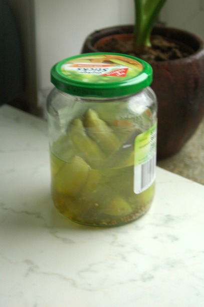 pickled gherkin juice