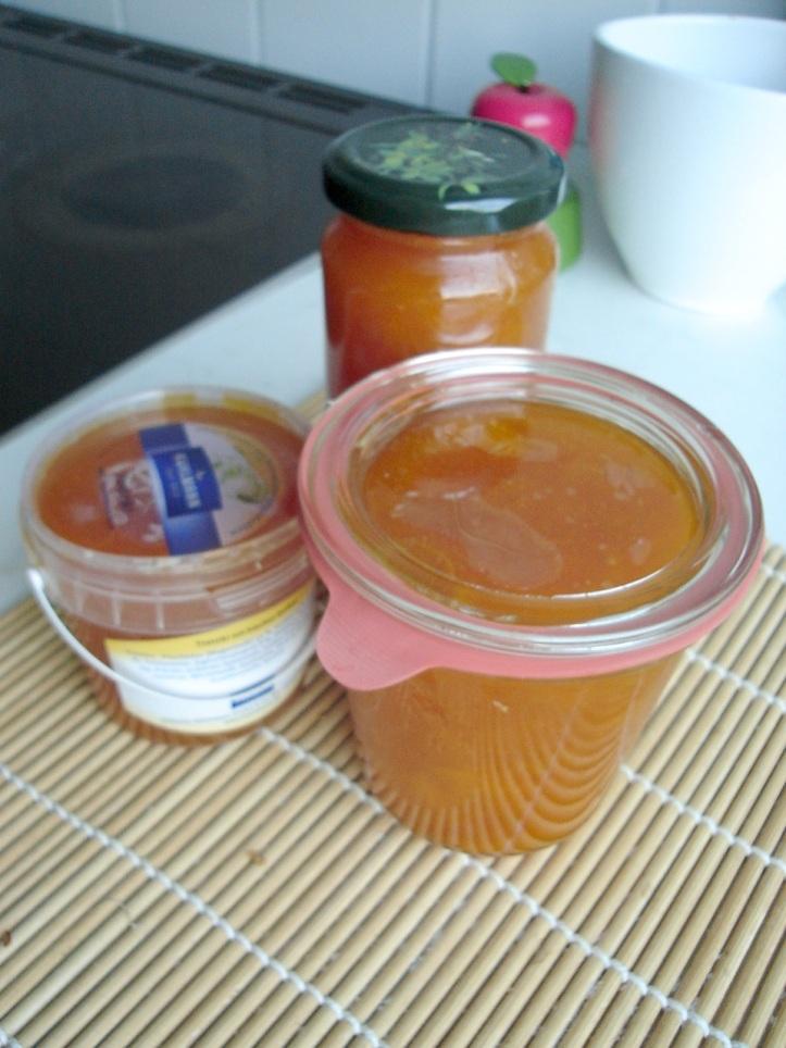 apricot jam, simple apricot jam