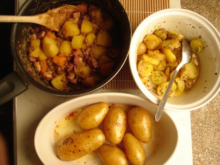 potato three ways