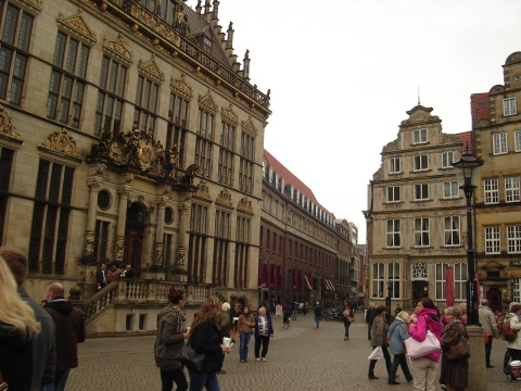 Bremen Town Hall Square