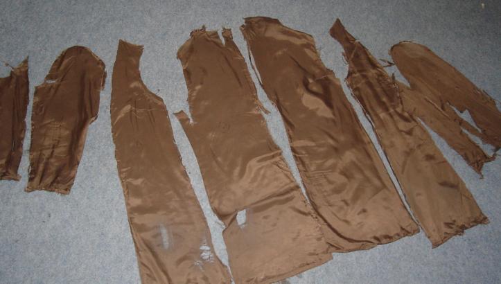 shabby coat lining