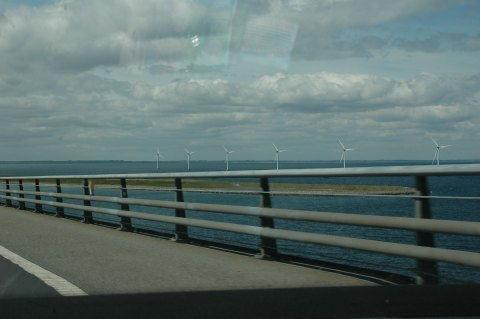 Wind Energy on the Great Eastern Belt Bridge