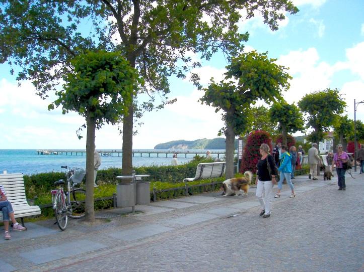 Promenade, Binz, Rügen