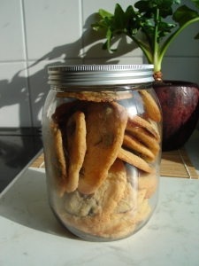 cookie jar, homemade cookies, gift cookies