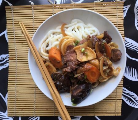 crockpot asian, shin beef stew, slow cooker